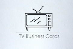 TV Show Business Cards
