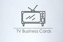 TV Show Business Cards