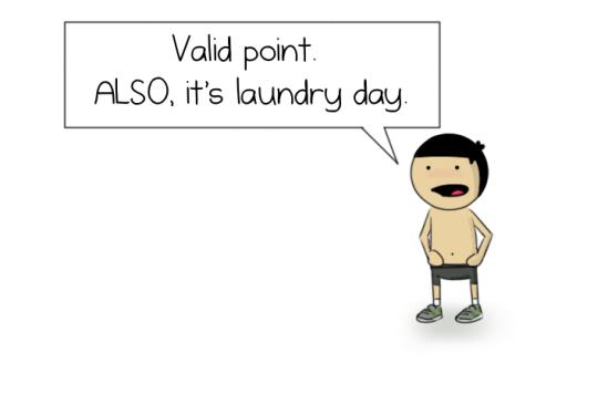 No pants, yo