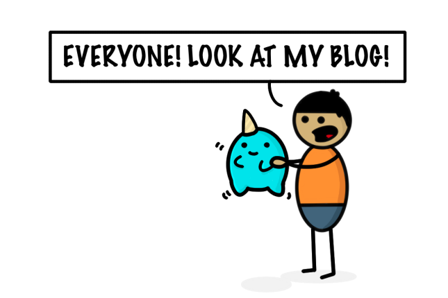 Look at my blog
