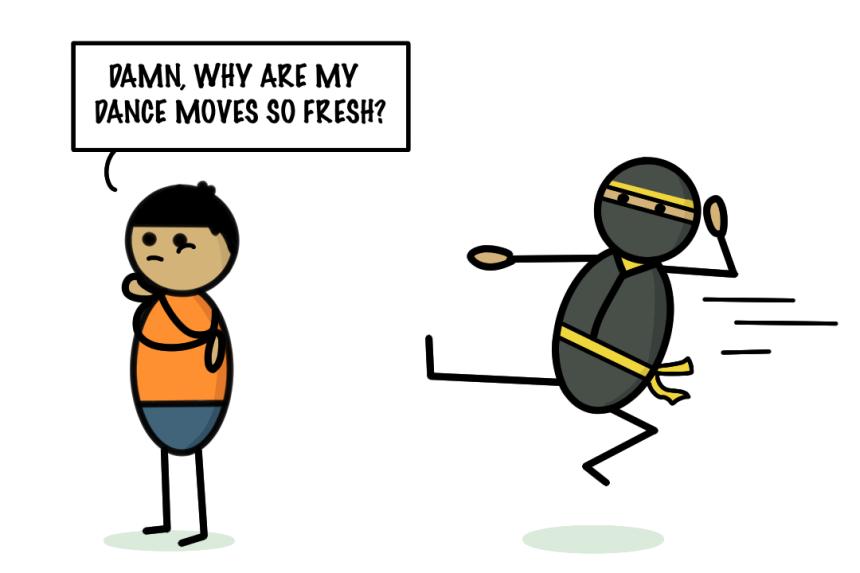 Ninja Kick!