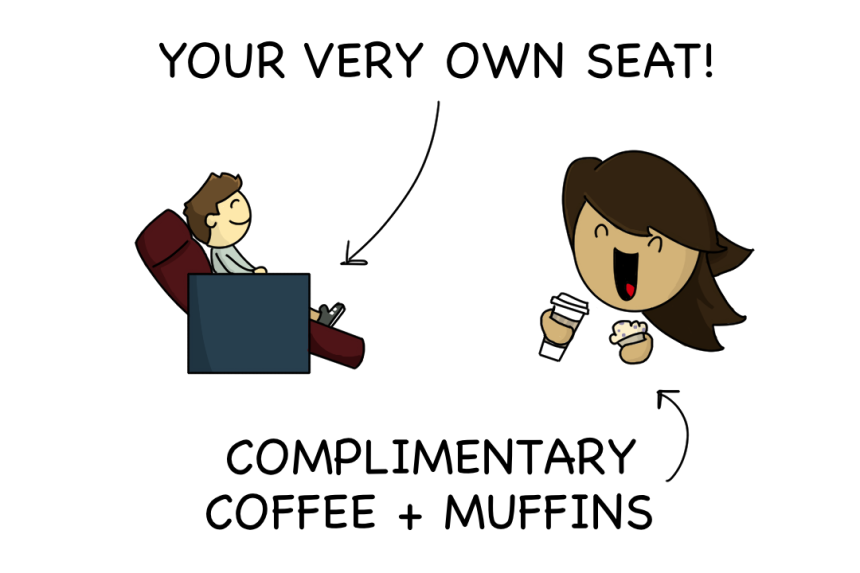 muffins but also chairs