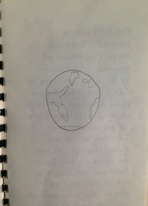 Cryptic inside cover?