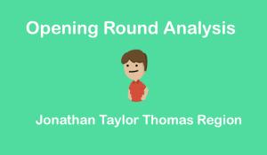 Jonathan Taylor Thomas Region